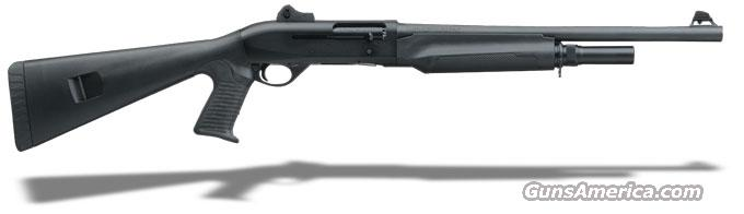 "Benelli M2 Tactical Black synthetic, Pistol grip, Ghost-ring sight 18.5"" MPN 11052  Guns > Shotguns > Benelli Shotguns > Tactical"