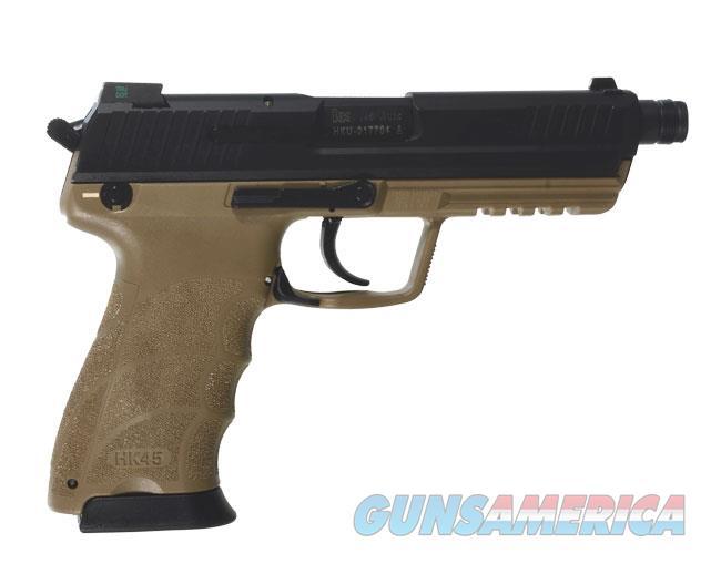 HK45 Officer .45 ACP Tan Pistol  Guns > Pistols > Heckler & Koch Pistols > Polymer Frame