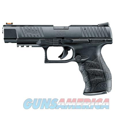 "Walther PPQ .22lr 5"" Black 10 round with Fiber Optic Front Sight  MPN 5100305  Guns > Pistols > Walther Pistols > Post WWII > P99/PPQ"