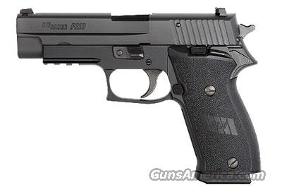 Sig Sauer P220 Black Nitron Finish, SLITE Night Sights, Single Action, Ambi ***Discontinued***  Guns > Pistols > Sig - Sauer/Sigarms Pistols > P220