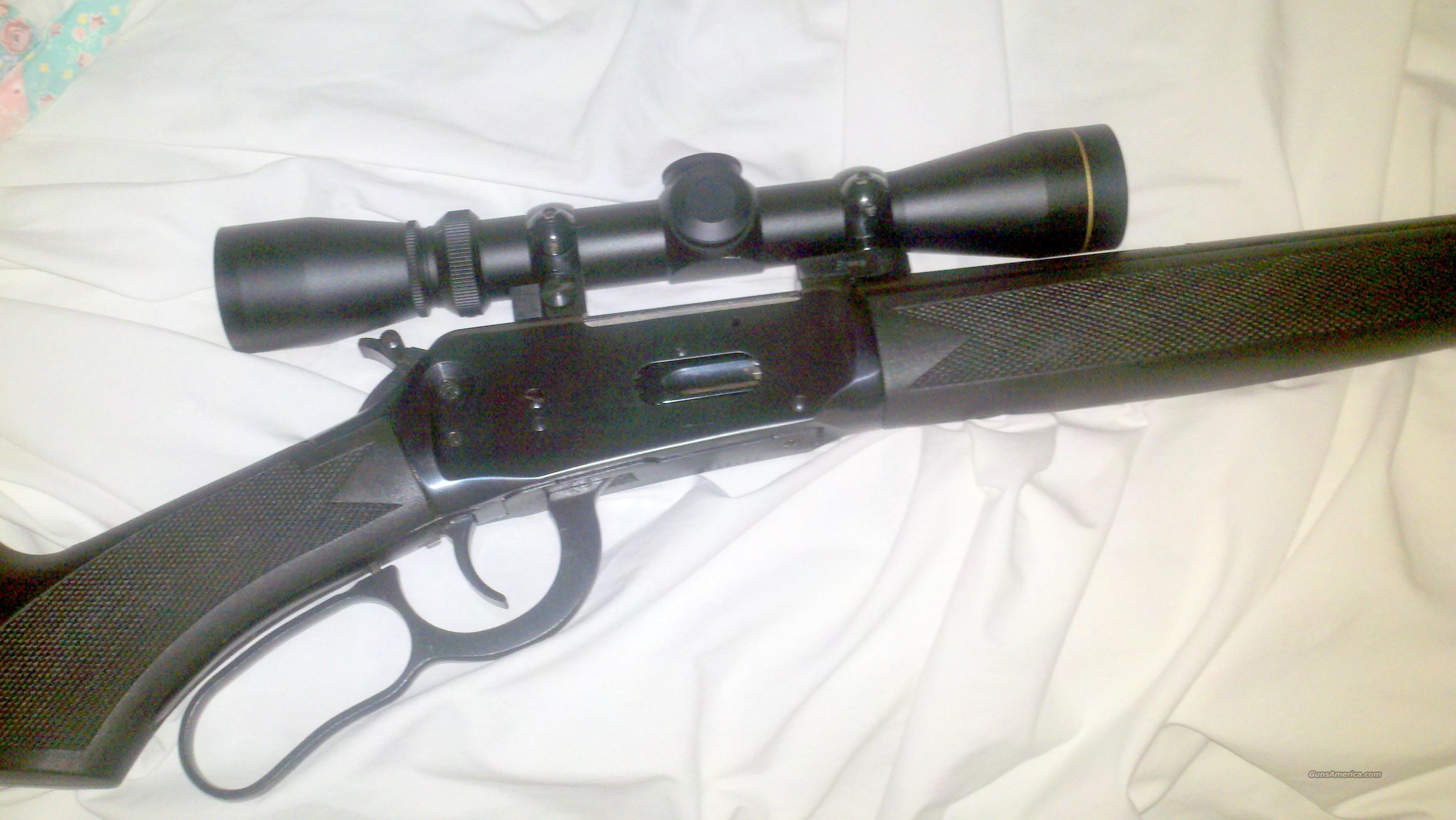 "Winchester mod# 94ae ""Black Shadow"" 30-30 win w/2x7 Leupold scope  Guns > Rifles > Winchester Rifles - Modern Lever > Model 94 > Post-64"