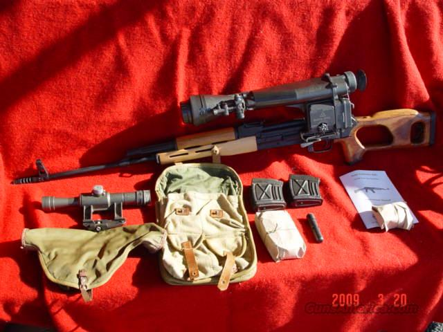 ROMANIAN DRAGANOV  Guns > Rifles > AK-47 Rifles (and copies) > Full Stock