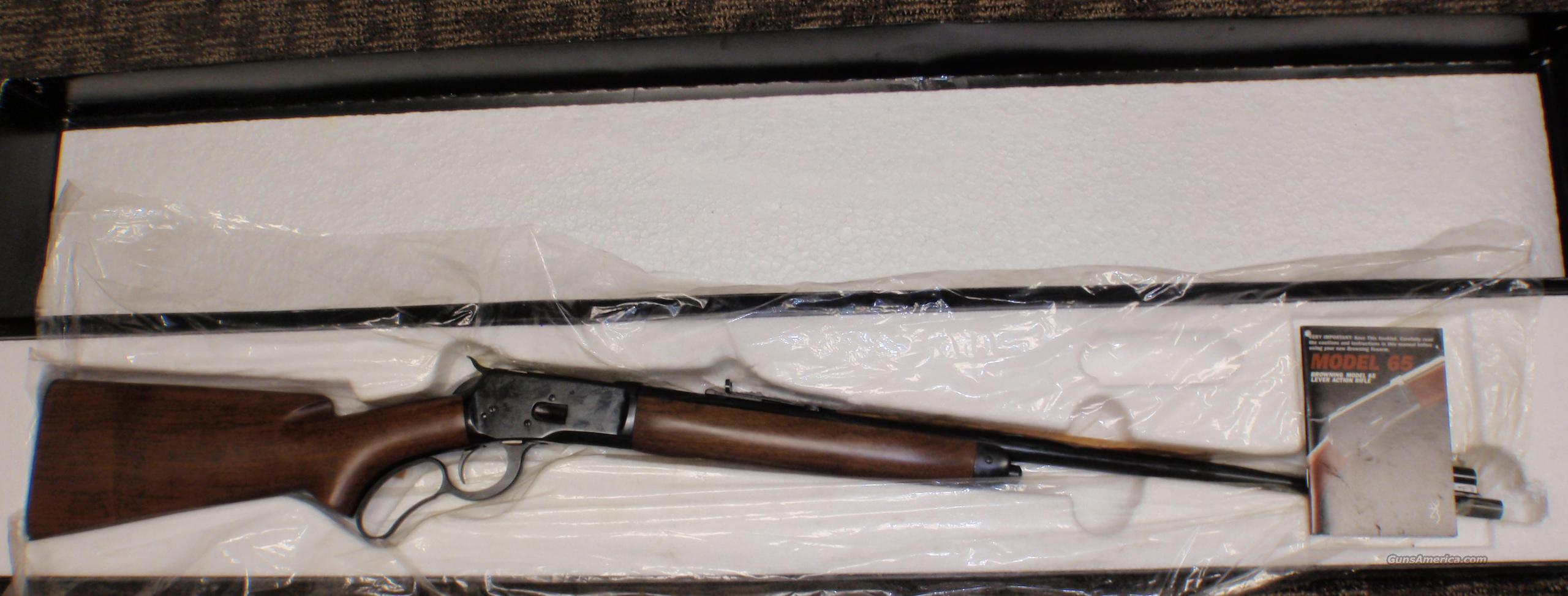 Browning Model 65 218 Bee N.I.B.   Guns > Rifles > Browning Rifles > Lever Action