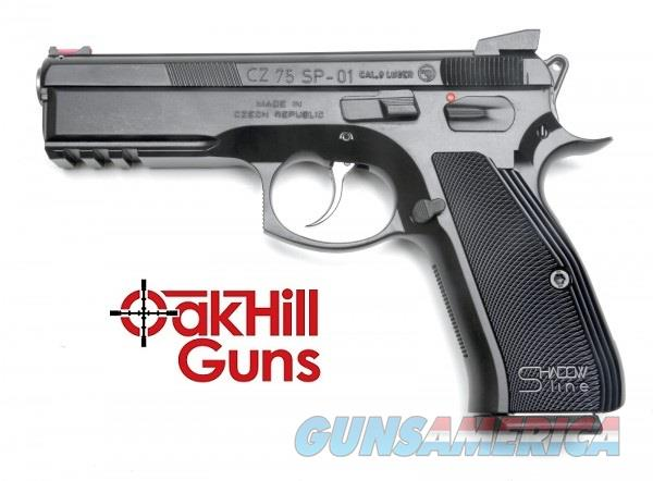 CZ 75 SP-01 Shadow Line 9mm Custom Competition Ready 17 Rd Mags 91168 *NEW*  Guns > Pistols > CZ Pistols