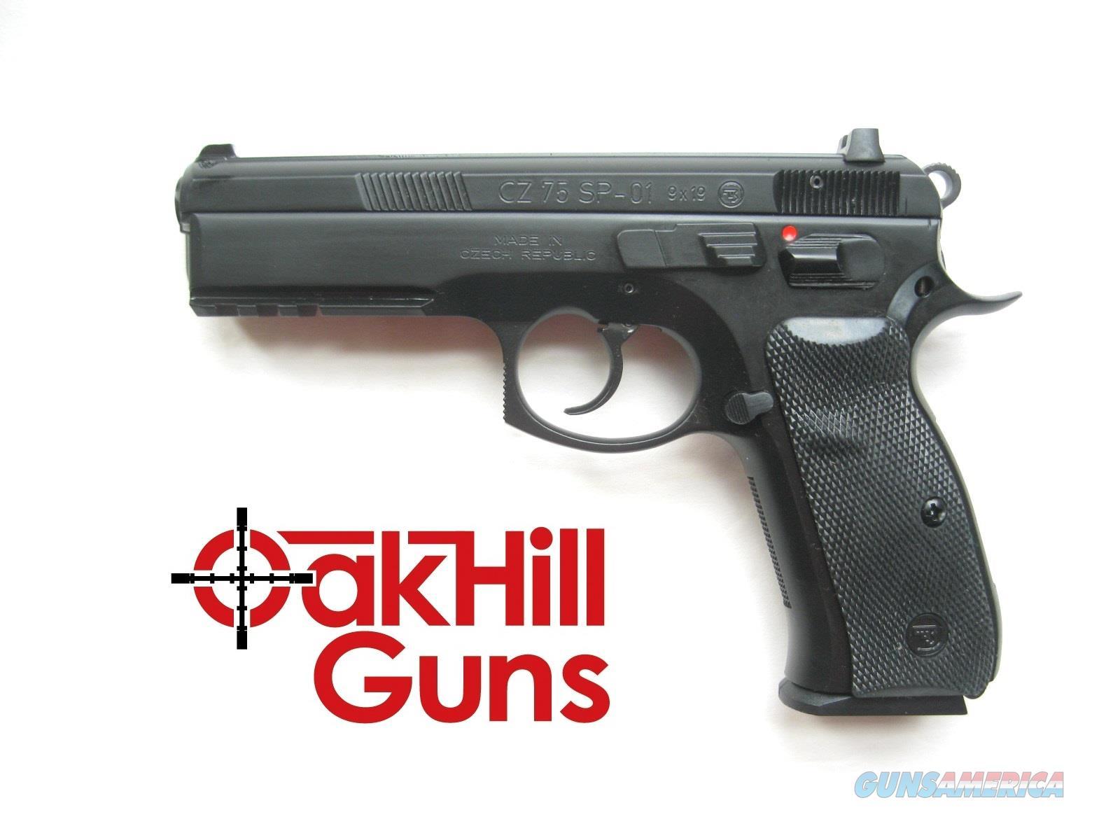 CZ 75 SP-01 9mm TruDot Night Sights 10 Round Mags SP01 01152 *NEW*  Guns > Pistols > CZ Pistols