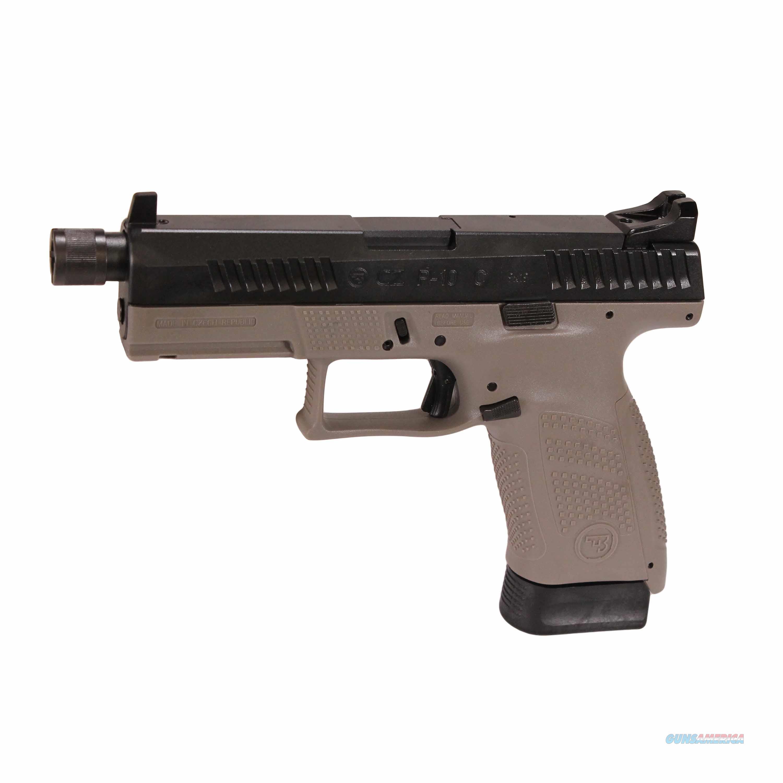 CZ P10 9mm Threaded Suppressor Ready Urban Grey 10rd 01519 *NEW*  Guns > Pistols > CZ Pistols