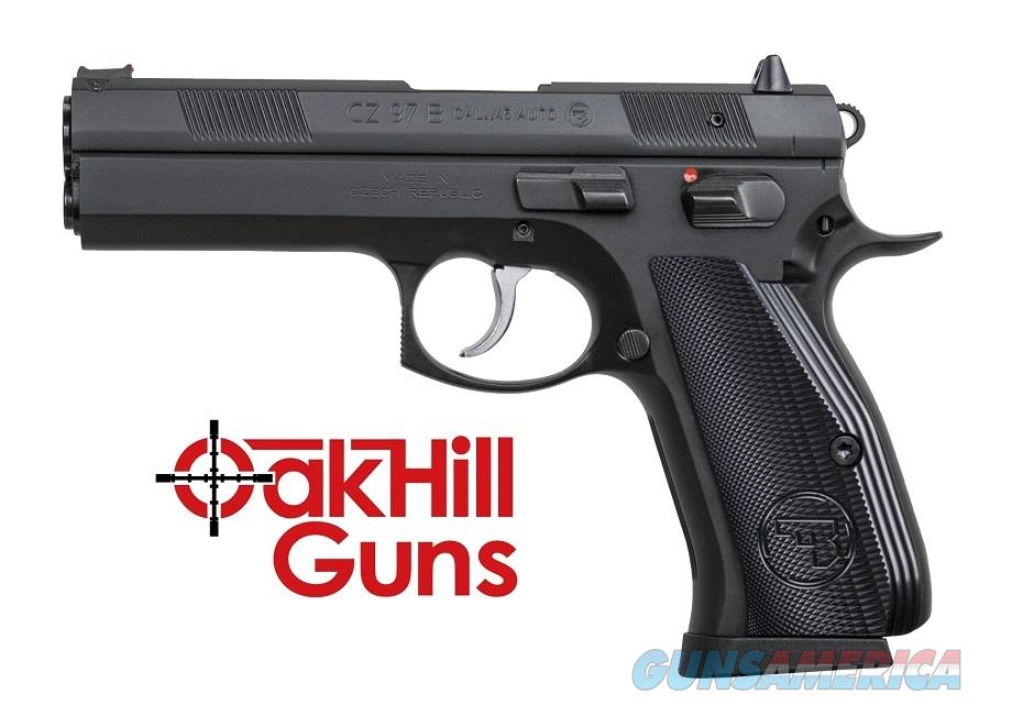 CZ 97 B .45 acp Fiber Optic Aluminum Grips 01411 *NEW*  Guns > Pistols > CZ Pistols