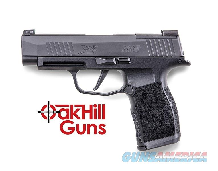Sig Sauer P365 XL Nitron 9mm XRAY Night Sights 12 Rd Subcompact Pistol 365XL-9-BXR3 *NEW*  Guns > Pistols > Sig - Sauer/Sigarms Pistols > P365