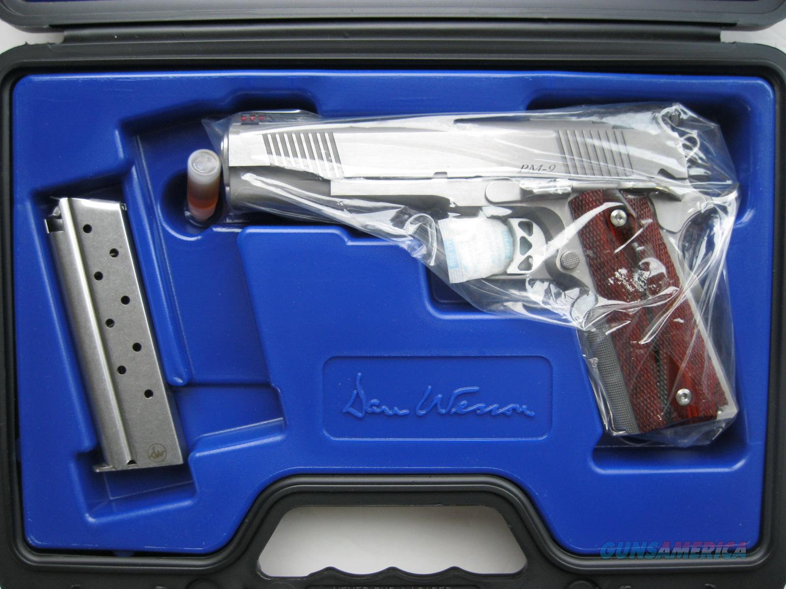 """Dan Wesson Pointman 9mm PM9 Stainless 1911 5"""" CZ-USA 01909 *NEW*  Guns > Pistols > Dan Wesson Pistols/Revolvers > 1911 Style"""