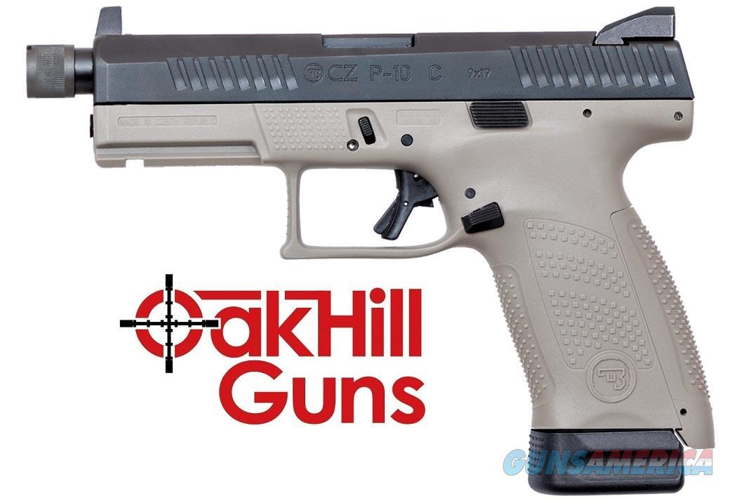 CZ P10 9mm Threaded Suppressor Ready Urban Grey 17rd 91519 *NEW*  Guns > Pistols > CZ Pistols