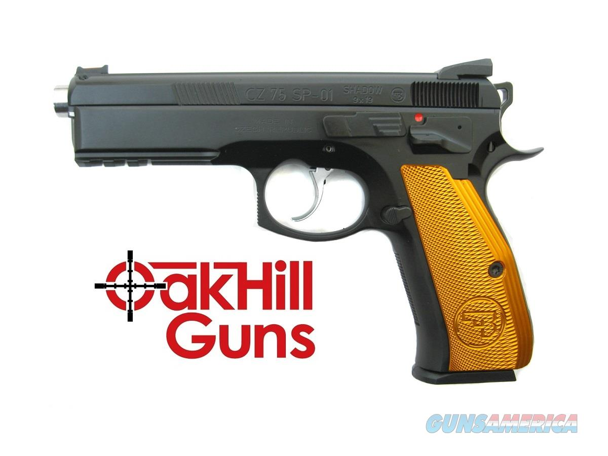 "CZ SP-01 Orange 9mm Australian 4.8"" Extended Barrel 91165 *NEW*  Guns > Pistols > CZ Pistols"