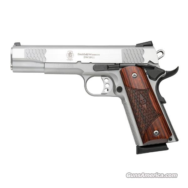 "Smith & Wesson E-Series 1911 .45 acp Stainless 5"" *NEW*  Guns > Pistols > Smith & Wesson Pistols - Autos > Steel Frame"