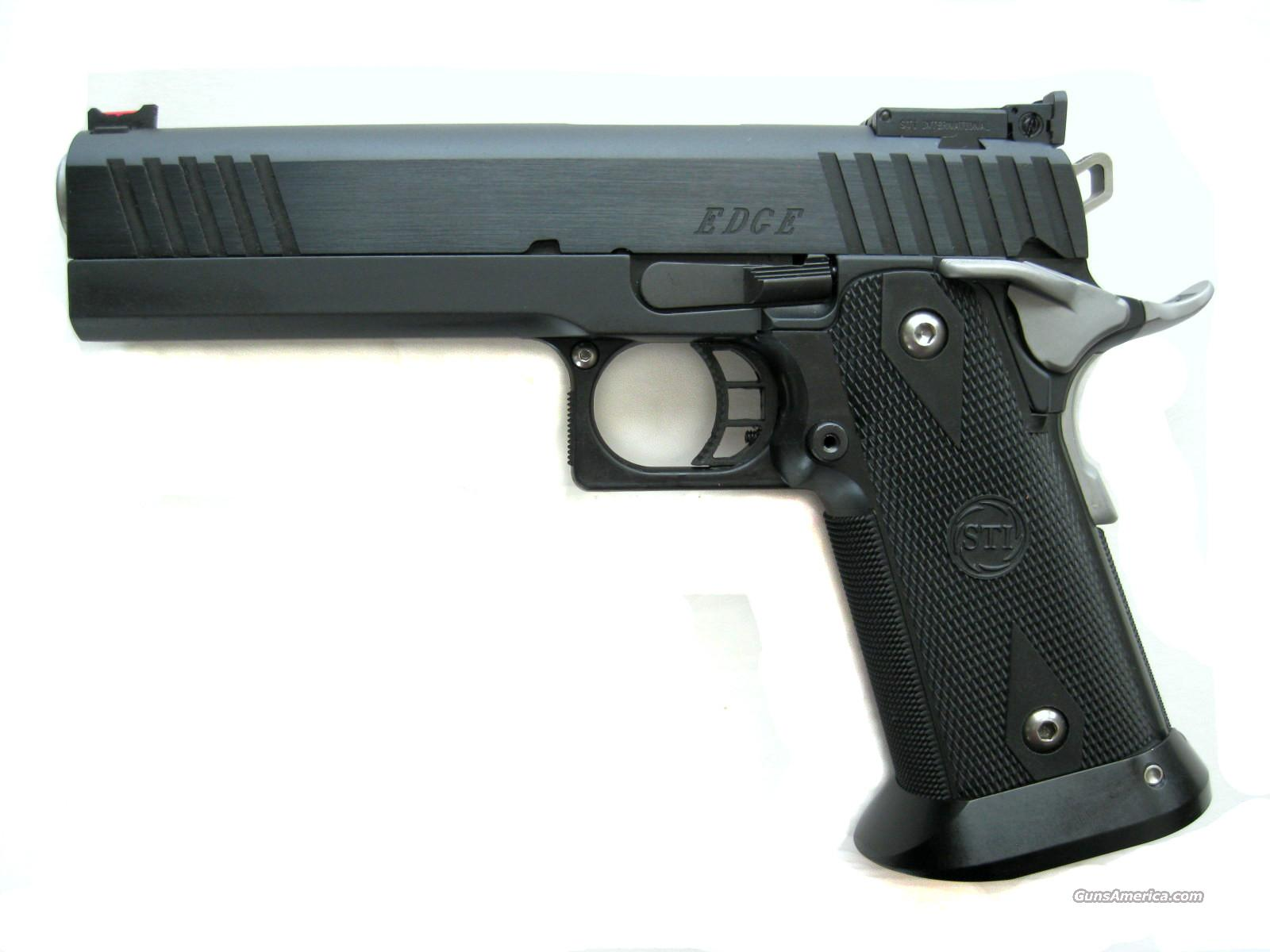 STI Edge 9mm DAWSON FO D/T Custom 2011 *NEW*  Guns > Pistols > STI Pistols