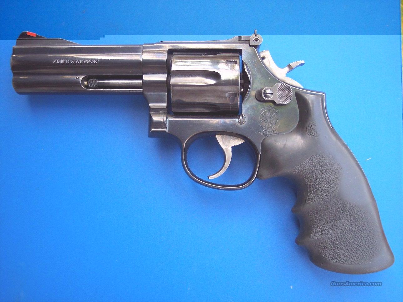 "Smith & Wesson 586-4 .357 mag 4""  Guns > Pistols > Smith & Wesson Revolvers > Full Frame Revolver"