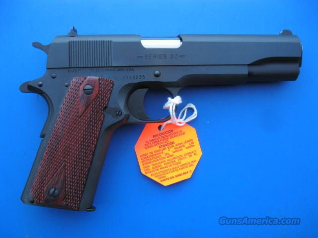 Colt 1991A1 45 acp Classic Government 1911 Blue 01991 *NEW*  Guns > Pistols > Colt Automatic Pistols (1911 & Var)
