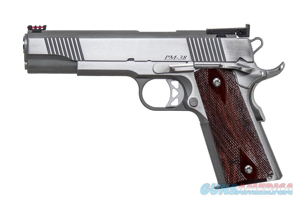 "Dan Wesson Pointman PM38 .38 Super Stainless 1911 5"" CZ-USA 01860 *NEW*  Guns > Pistols > Dan Wesson Pistols/Revolvers > 1911 Style"