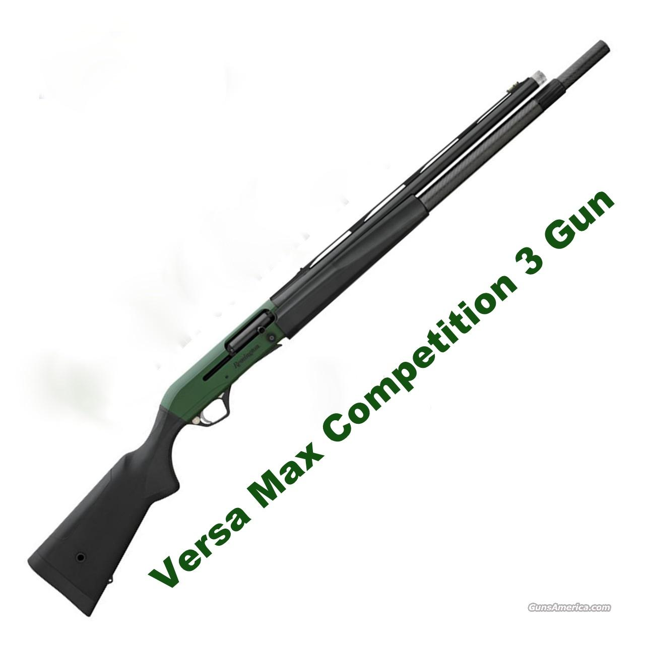 Remington Versa Max Competition 3 Gun OD Green 10+1 Carbon Fiber XS Sights 81029 *NEW*    Guns > Shotguns > Remington Shotguns  > Autoloaders > Tactical