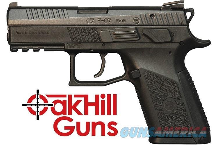 CZ-USA P-07 Compact 9mm 15 Round CZ P07 91086 *NEW*  Guns > Pistols > CZ Pistols