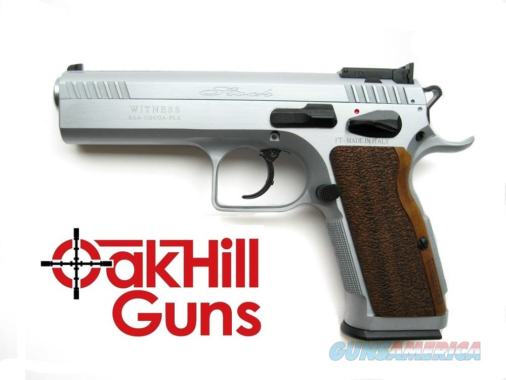 EAA Stock II .38 Super Tanfoglio Hard Chrome Bull Barrel 17 Round 600617 *NEW*  Guns > Pistols > EAA Pistols > Other