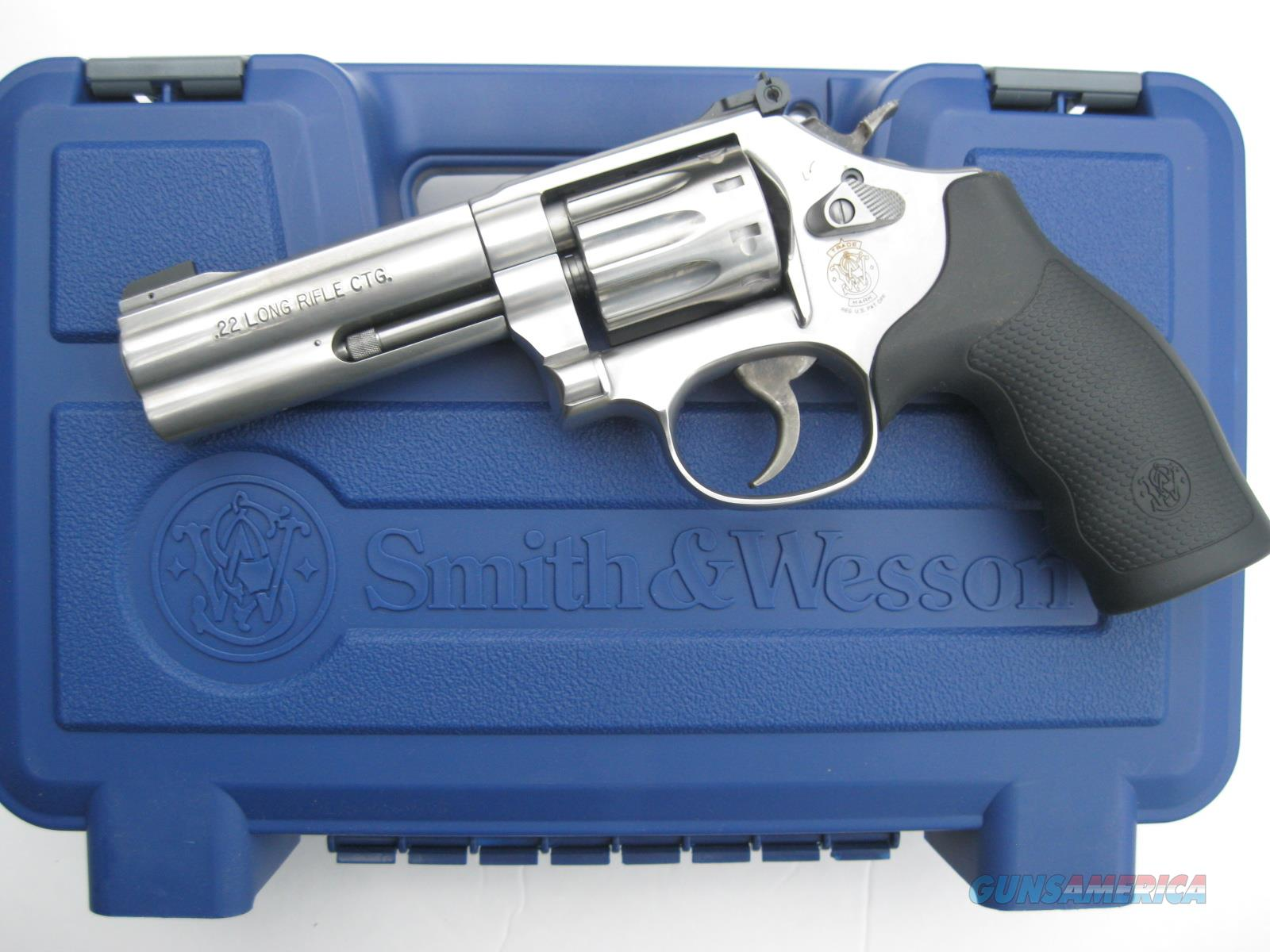 "Smith & Wesson 617 10 shot .22 LR *NEW* ""K"" Frame K22 Masterpiece 160584  Guns > Pistols > Smith & Wesson Revolvers > Full Frame Revolver"
