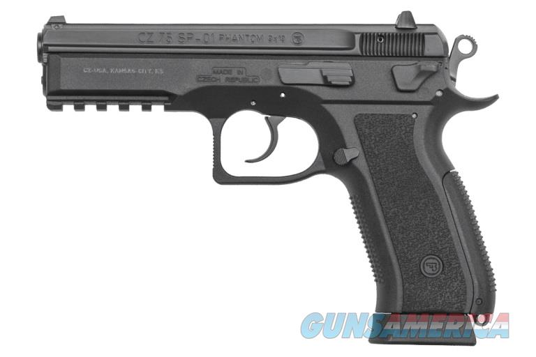 CZ SP-01 Phantom 9mm Tactical Decocker Rail 18 Rd Mags 91258 *NEW*  Guns > Pistols > CZ Pistols