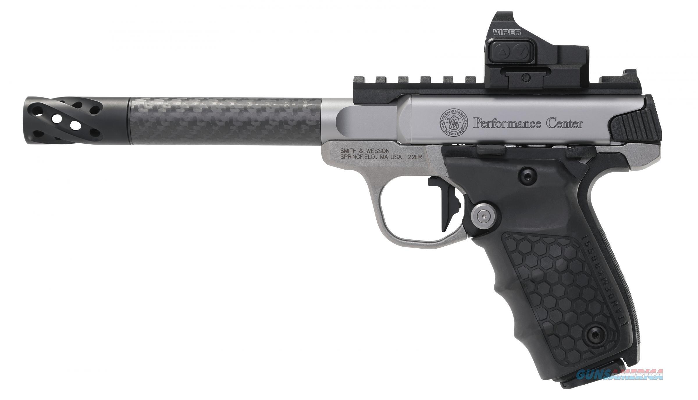 Smith & Wesson SW22 Performance Center Victory .22 LR Carbon Fiber Target Barrel Vortex Viper 6MOA Dot 12081 *NEW*  Guns > Pistols > Smith & Wesson Pistols - Autos > .22 Autos