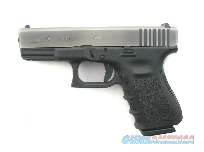 Glock 19 9mm Battle Worn Finish Hi-CAP 15 Round Mags *NIB*   Guns > Pistols > Glock Pistols > 19