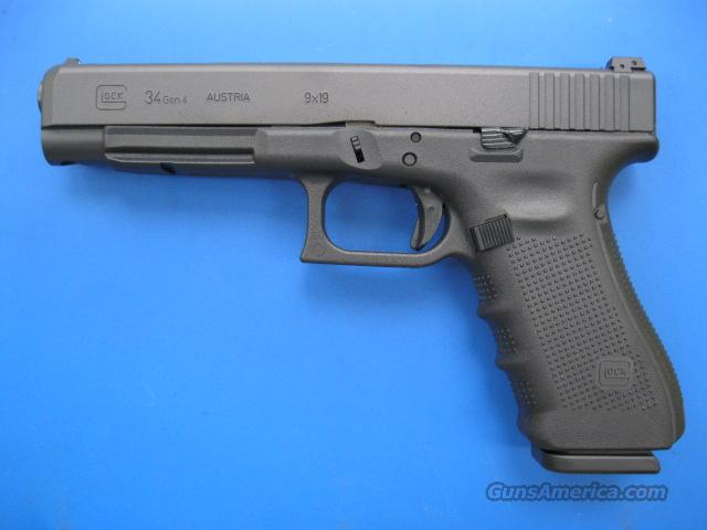 Glock 34 9mm Gen 4 *NEW* 3 Hi-Caps Practical Tactical  Guns > Pistols > Glock Pistols > 35