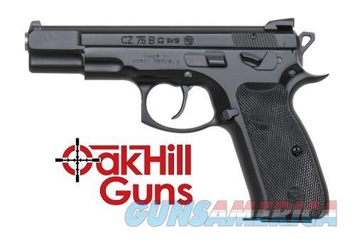 CZ 75B Omega Convertible Decocker 9mm 10 Rd Mags 01136 *NEW*  Guns > Pistols > CZ Pistols