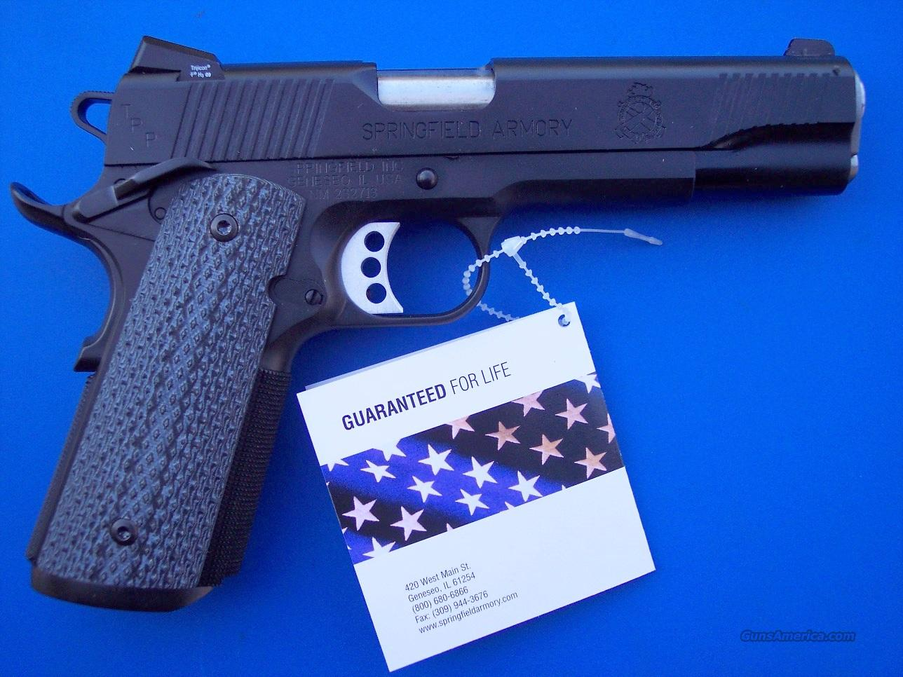 Springfield TRP Tactical 1911 .45 acp Armory Kote Tactical Response Pistol PC9108L *NEW* PLUS - 4 Extra Mags, Holster and Mag Pouch  Guns > Pistols > Springfield Armory Pistols > 1911 Type