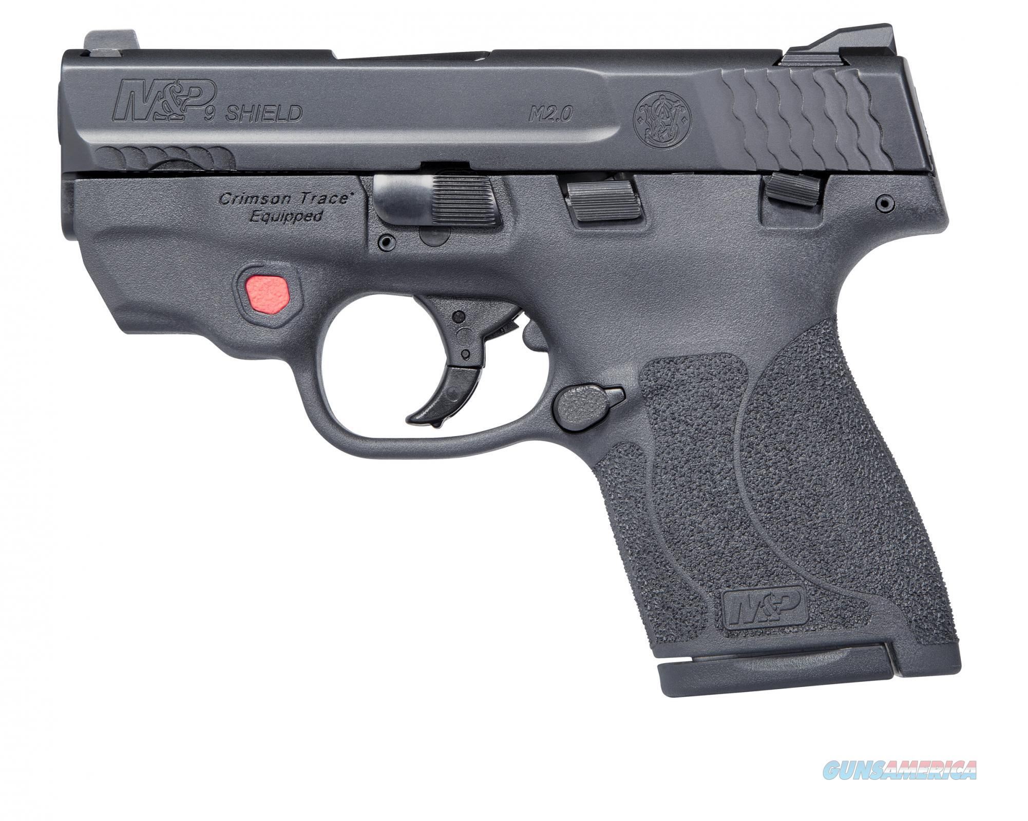 Smith & Wesson M&P9 Shield M2.0 9mm w/ Crimson Trace Laser 11671 *NEW*  Guns > Pistols > Smith & Wesson Pistols - Autos > Shield