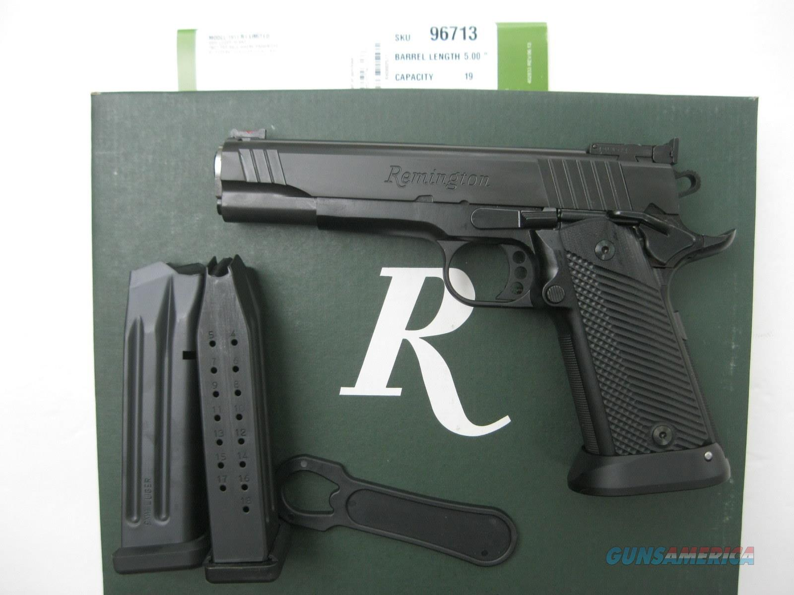 Remington R1 1911 9mm 19 Round High-Cap 96713  *NEW*  Guns > Pistols > Remington Pistols - Modern > 1911