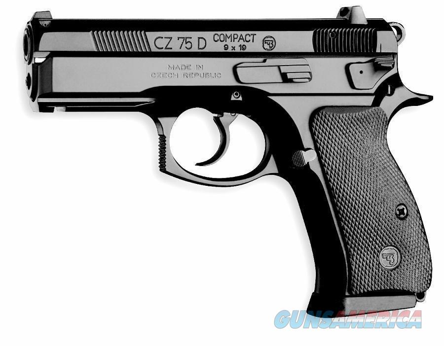 CZ-USA 75D 9mm Compact LW Rail 14 Rd Decocker 99003 *NEW*  Guns > Pistols > CZ Pistols