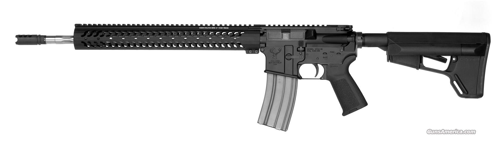 "Stag 3GL Competition 18"" Left Hand *NEW* Sampson Geissele MagPul  Guns > Rifles > Stag Arms > Complete Rifles"
