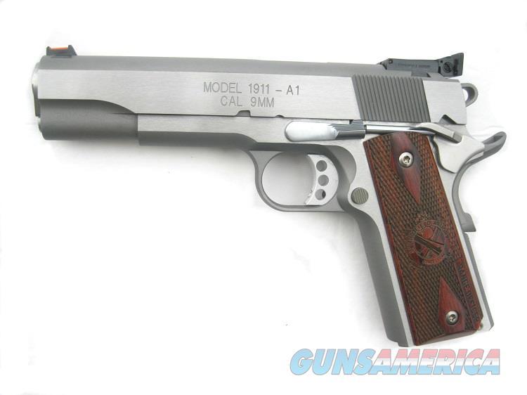 "Springfield Range Officer STAINLESS 9mm 5"" 1911 PI9122L *NIB*  Guns > Pistols > Springfield Armory Pistols > 1911 Type"