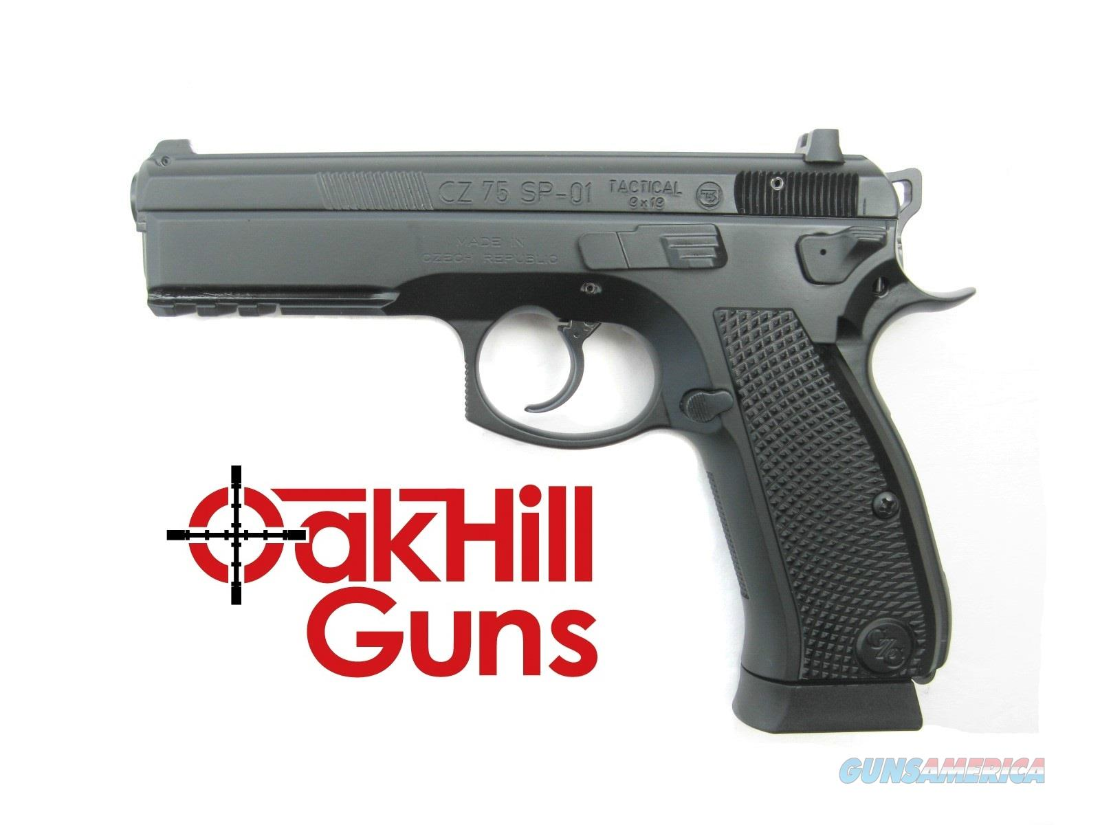 CZ 75 SP-01 Tactical 9mm CZ Custom Tuned Decocker 18 rd 99104 *NEW*  Guns > Pistols > CZ Pistols