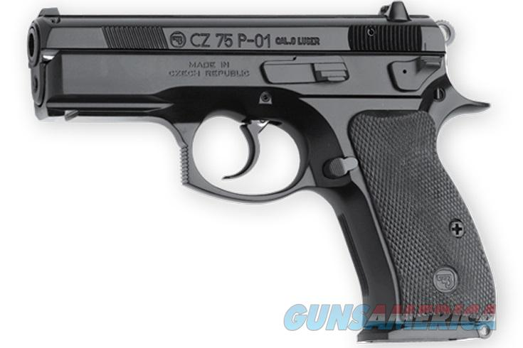 CZ-USA 75 P-01 9mm Compact LW Rail 10 Rd Decocker 01199 *NEW  Guns > Pistols > CZ Pistols