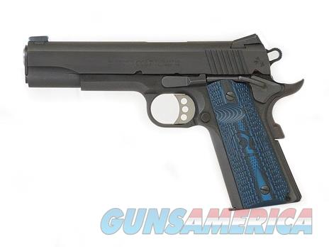 "Colt Competition Government .45 acp 1911 Blue 5"" G10 Fiber Optic O1980CCS *NEW*   Guns > Pistols > Colt Automatic Pistols (1911 & Var)"