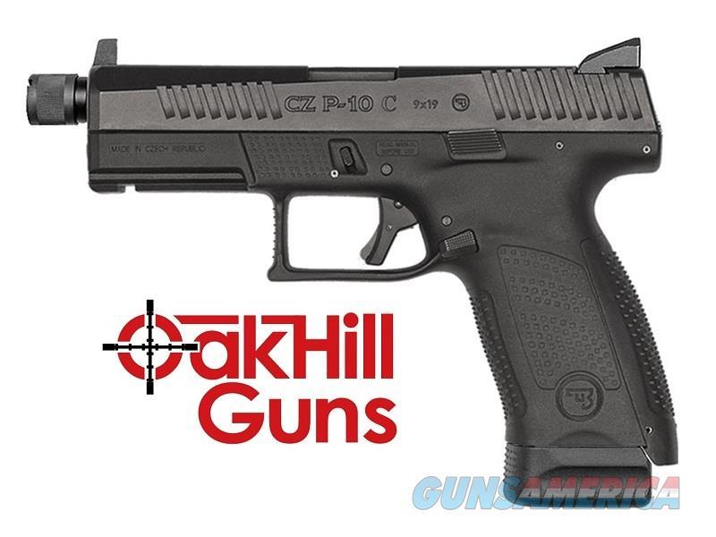 CZ P-10 Suppressor Ready Threaded Barrel 9mm Compact Night Sights 91523 *NIB*  Guns > Pistols > CZ Pistols