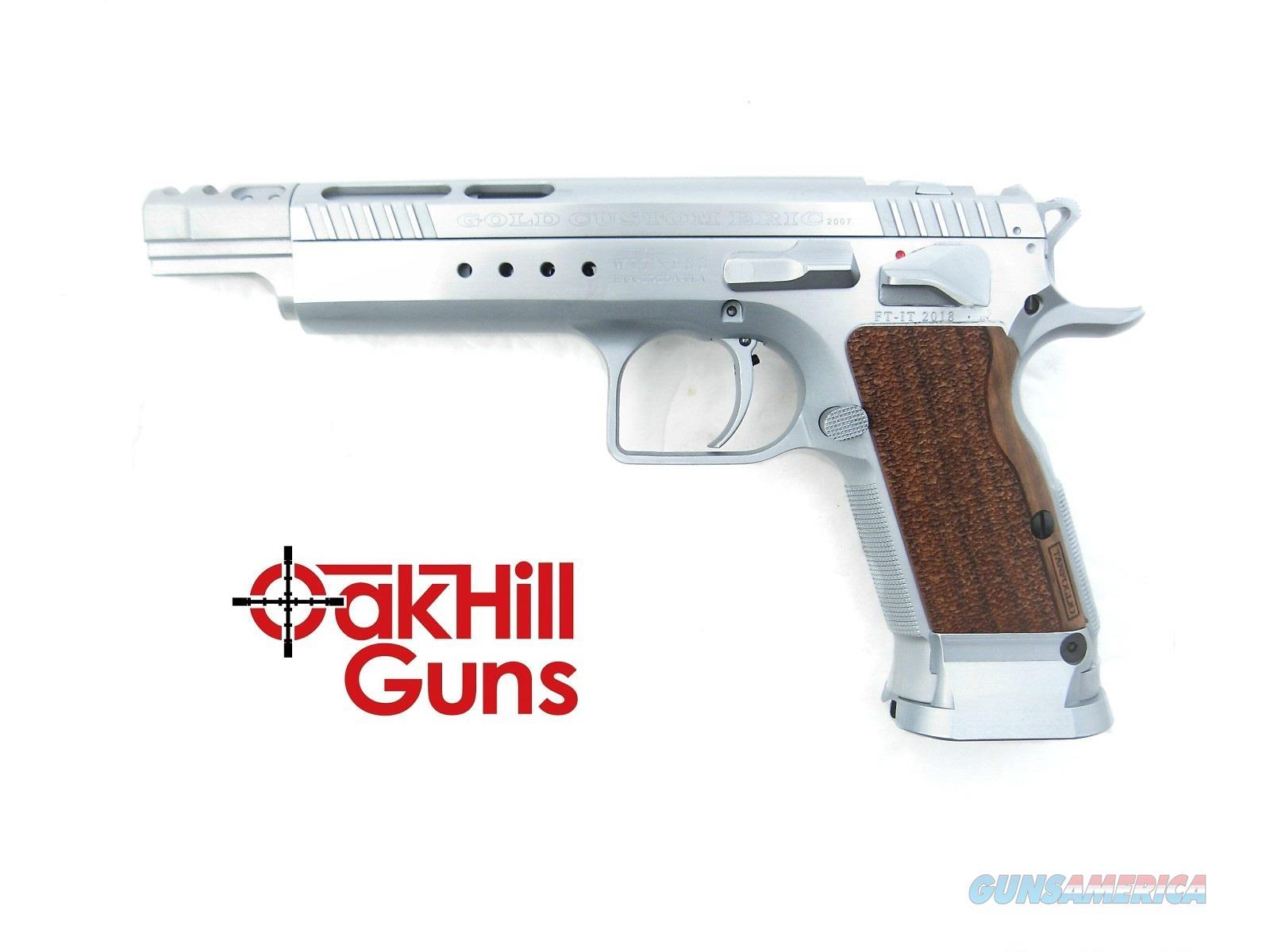 EAA Witness Elite Gold Team Match 9mm Open Tanfoglio *NIB* 600066  Guns > Pistols > EAA Pistols > Other