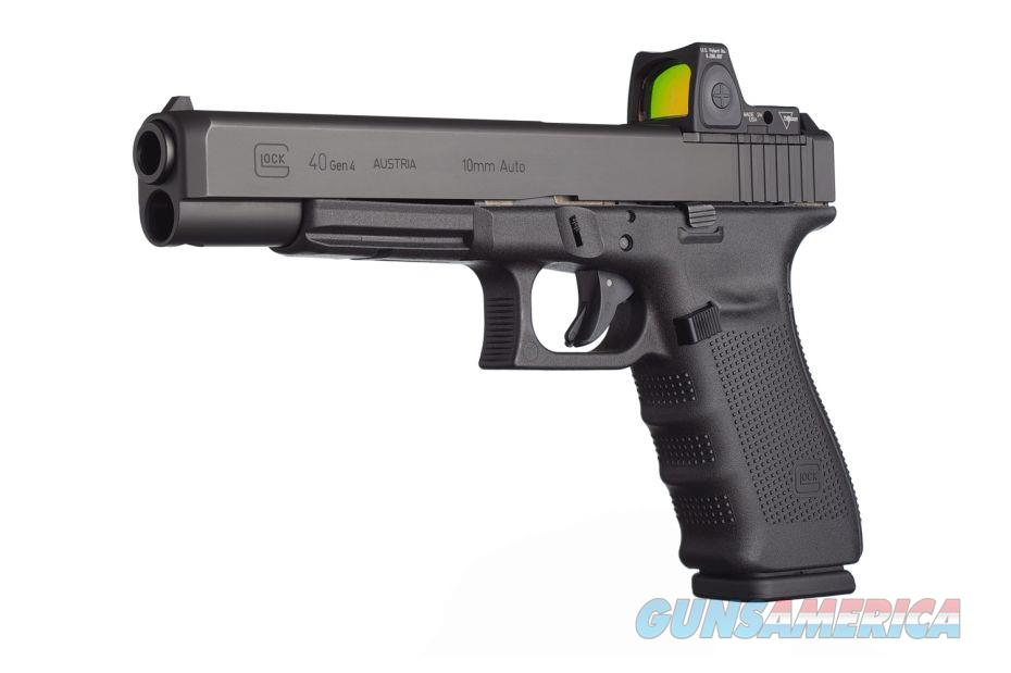 Glock 40 MOS Gen 4 LS 10mm 15 Rd Modular Optic System NIB  Guns > Pistols > Glock Pistols > 40