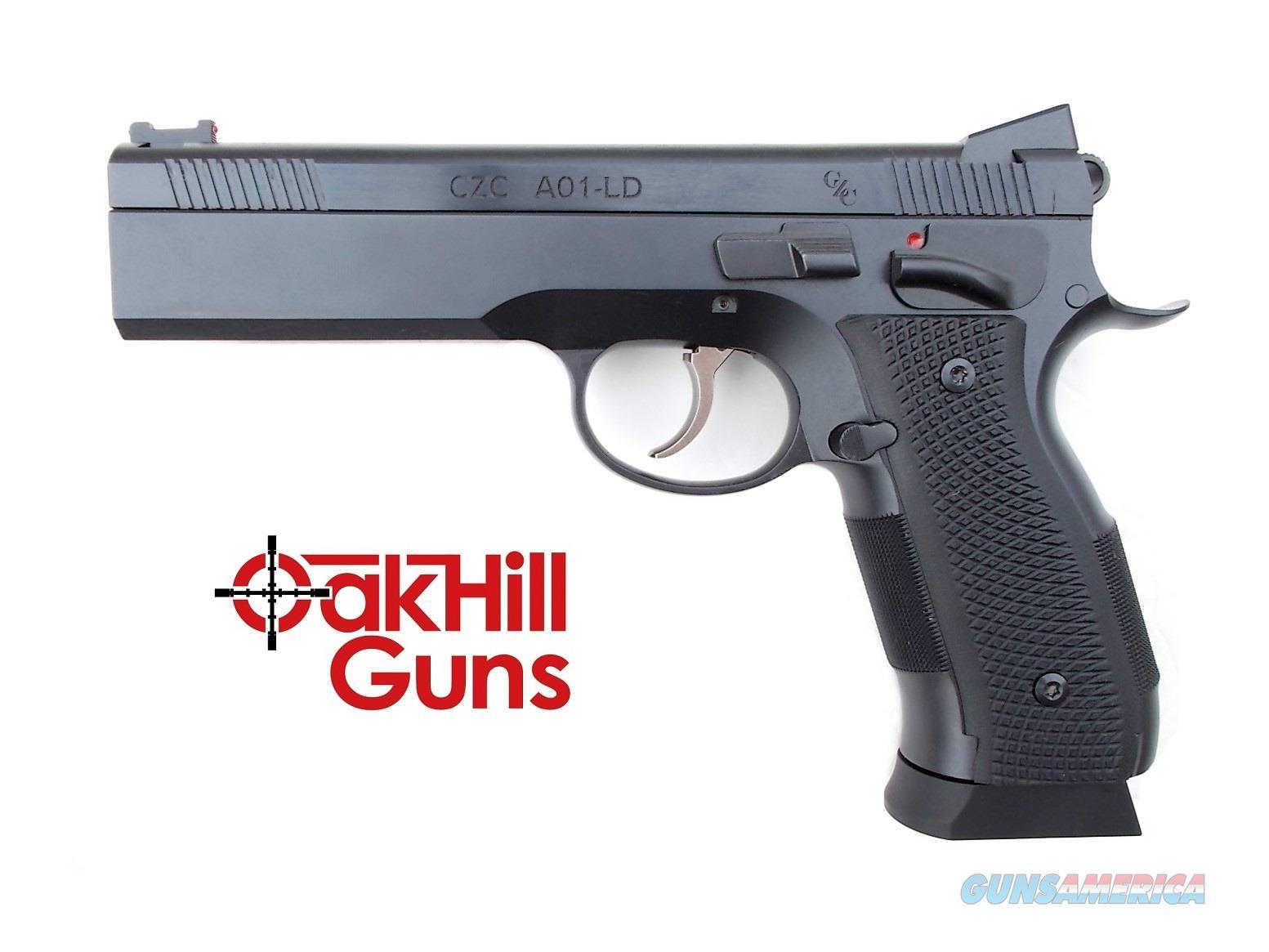 CZ Custom A01-LD 9mm CZC 19rd Bull Barrel 91731 *NEW*  Guns > Pistols > CZ Pistols