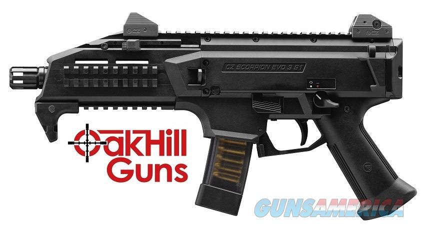 CZ-USA Scorpion EVO 9mm 20 Round Sub Gun 91351 *NEW*  Guns > Pistols > CZ Pistols