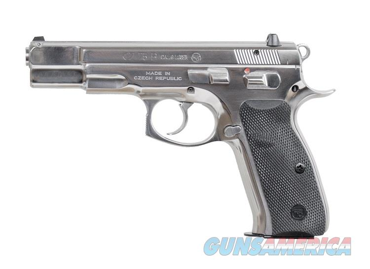 CZ 75B 9mm High Polished Stainless 16 Rd 91108 *NIB*  Guns > Pistols > CZ Pistols