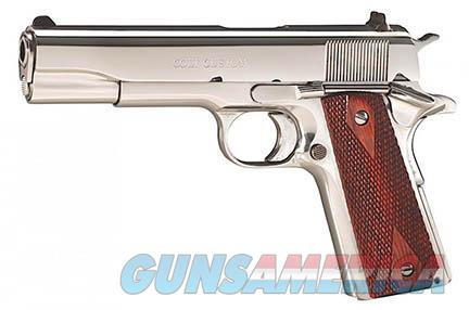 Colt 1911 Government Bright Stainless .45 acp O1070BSTS *NEW*  Guns > Pistols > Colt Automatic Pistols (1911 & Var)