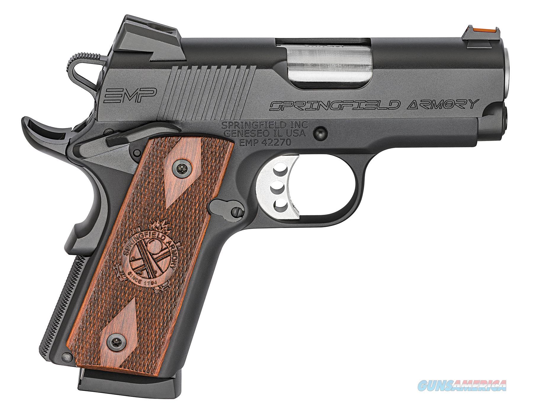 Springfield EMP 9mm Black Compact 1911 w/ 3 Mags PI9208L *NEW*   Guns > Pistols > Springfield Armory Pistols > 1911 Type