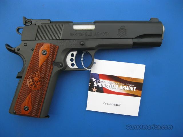"Springfield Armory Range Officer 9mm 1911 5"" RO PI9129L *NIB* 6 Mags Total plus Holster & Mag Pouch  Guns > Pistols > Springfield Armory Pistols > 1911 Type"
