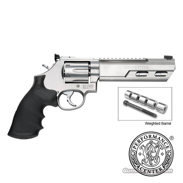 """Smith & Wesson PC 686 Competitor 6"""" Weighted Stainless 170319 S&W Performance Center *NEW*  Guns > Pistols > Smith & Wesson Revolvers > Performance Center"""