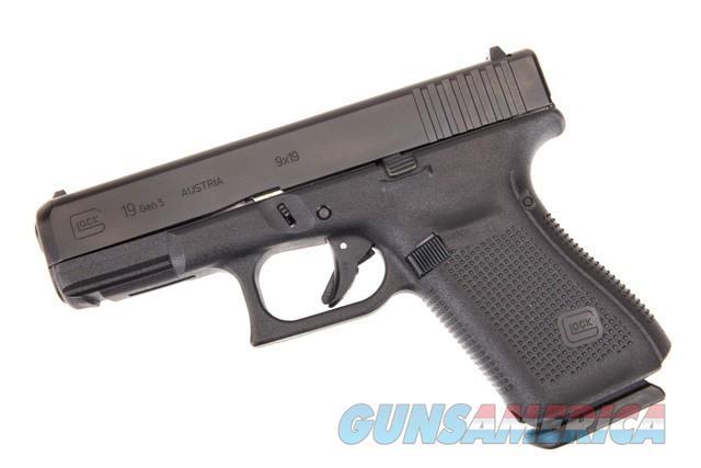 Glock Gen5 Model 19 Compact 9mm w/ 3 - 15 Round Mags *NEW*  Guns > Pistols > Glock Pistols > 19/19X