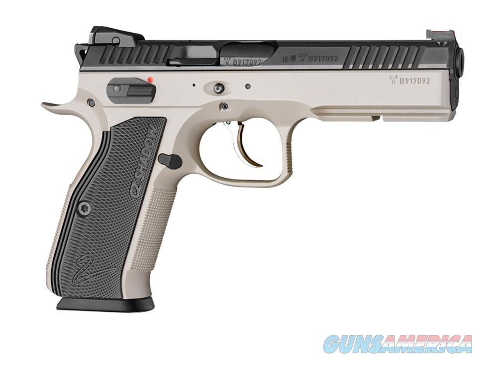 CZ Shadow 2 Urban Grey 2-Tone 9mm FO Hajo 3 -1 7 rd Mags CZ-USA 91255 *NEW*  Guns > Pistols > CZ Pistols